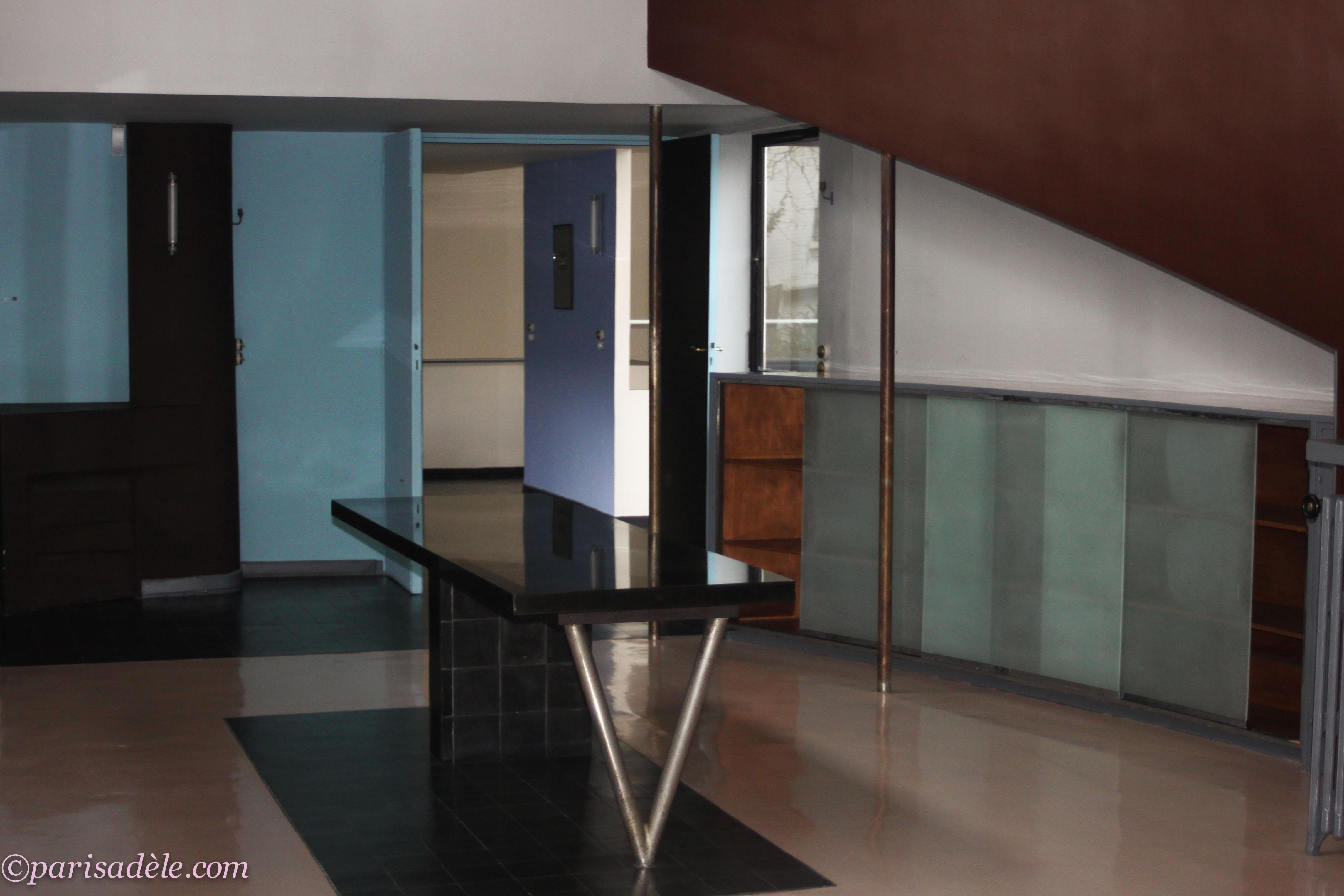 maison la roche foundation le corbusier paris ad le. Black Bedroom Furniture Sets. Home Design Ideas