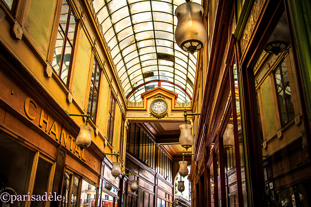 covered passage paris shopping