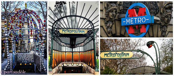 paris metro trains signs how to