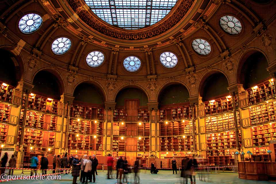 Richelieu Library Reading Room