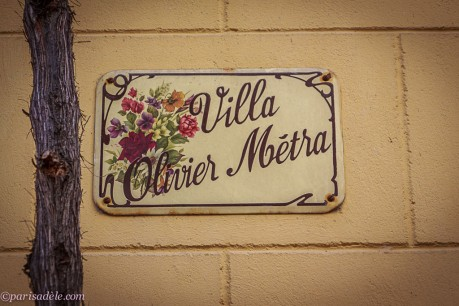 villa olivier metra paris