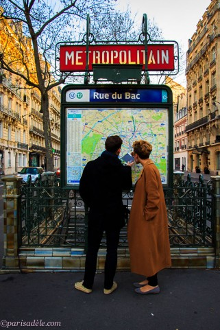 how to use paris metro