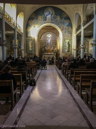 Chapel Miraculous Medal paris