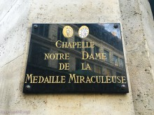 Chapel Miraculous Medal paris