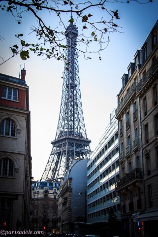 Eiffel Tower Avenue Rapp Paris