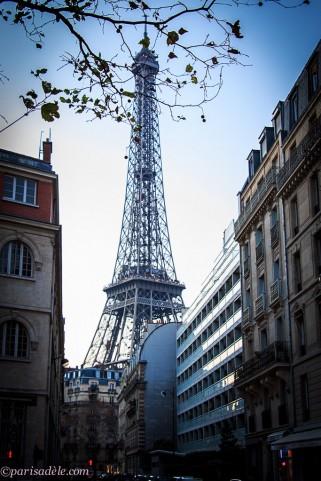 Eiffel Tower Avenue Rapp Paris