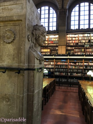 Bibliotheque Saint-Genevieve paris