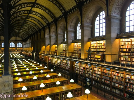 reading room library paris