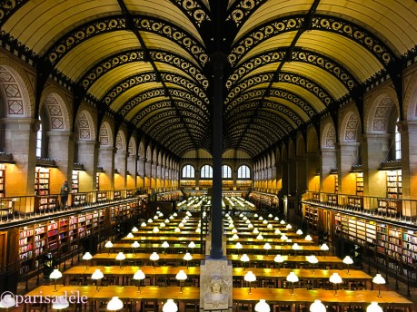 paris library reading room