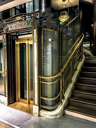 Ascenseur Galeries Lafayette Paris