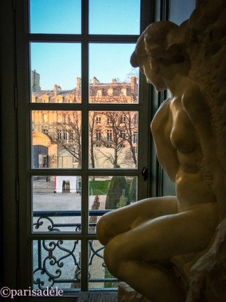 rodin museum paris sculptures looking out window