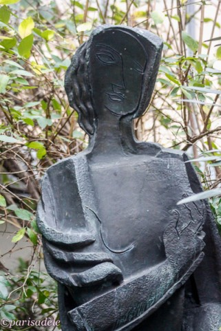 paris museum ossip zadkine russian sculptor