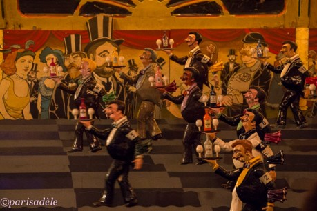 french waiters game musee arts forains fairground