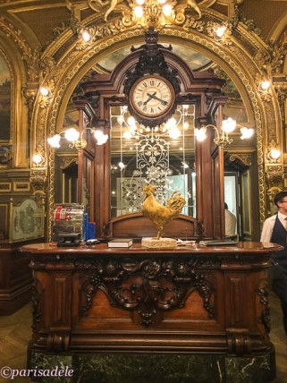 paris restaurants cafe bar le train bleu