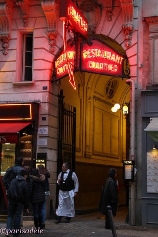 soup kitchen paris bouillon chartier cafe restaurant waiter