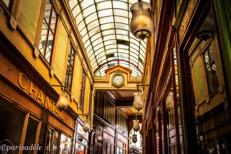 covered passageways arcades malls paris