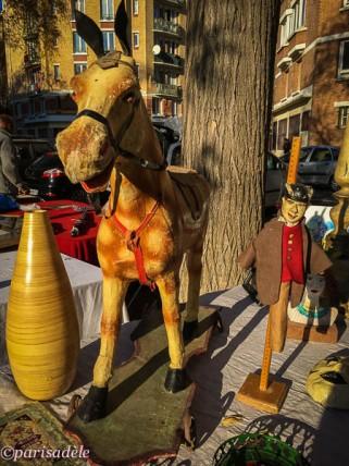 vintage toys paris flea markets