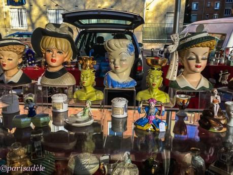paris flea markets second hand items porte de vanves