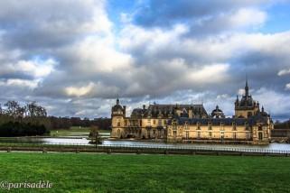 chateau de chantilly france