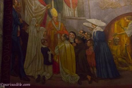 interior art saint esprit church paris