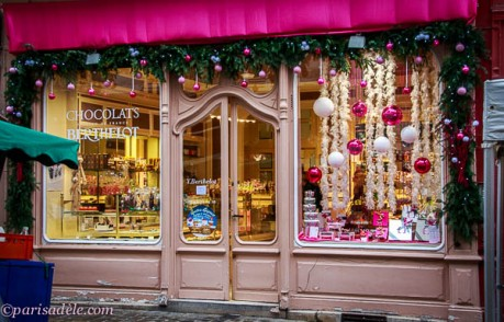 senlis shopping chocolate