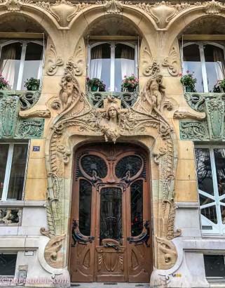 Jules Lavirotte Building Avenue Rapp Paris Art Nouveau