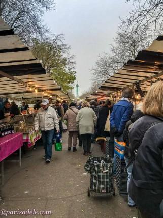 bastille markets paris marche bastille hours times