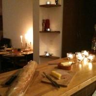 Le diner at Chez Adèle