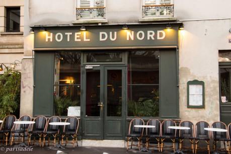 L hotel du nord paris ad le for Decor hotel du nord