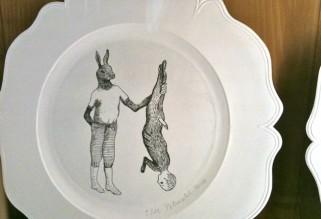Musée de la Chasse et de la Nature - rabbit hunter